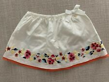 Juicy Couture Baby Girl Cotton Skirt & Diaper Cover-up Hair Clip 12-18 Months