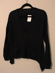 Marc by Marc Jacobs Navy Blue Lightweight Cardigan Sweater, Size Medium