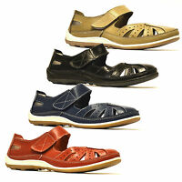 Ladies Womens New Leather Flat Mary Jane Summer Pumps Walking Comfort Shoes Size