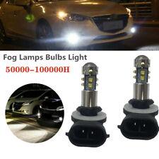 2X 12V Cree Chips H27W 881 894 Car LED Fog Light Bulb Daytime Running Projector