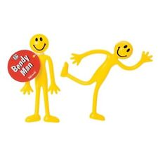 (2) Bendy Man Smiley Bendable Fidget Stress Relief Toy for Kids