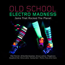 Various Artists - Old School Electro Madness: Jams That Rocked [New CD] Manufact