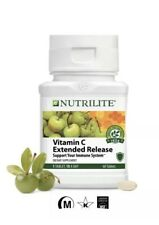 AMWAY Nutrilite Vitamin C Extended Release 60 Tablets. Exp 03/2022