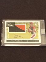 Ryan Finley 160/199 2019 Panini One 2 Color Rookie Patch Auto