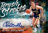 2018-19 Court Kings Brush Strokes Autographs #11 Chris Mullin /49