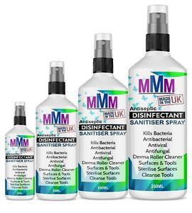 Derma Roller Cleaner Steriliser Tools MakeUp Brush Surface Spray UK Fast Deliver
