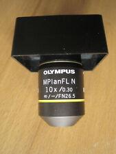 olympus mikroskop objektiv MPlan FLN 10x /0.30