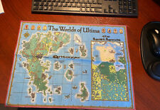 """Ultima Online Map Cloth - """"The Worlds Of Ultima"""""""
