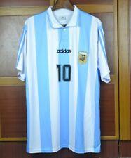 ARGENTINA HOME RETRO SHIRT 1994-95, MARADONA, BATISTUTA, CANIGGIA, S M L XL
