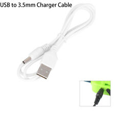 USB to 3.5mm DC 5V Charger Cable Connector Power Supply Charge Adapter Jack New~