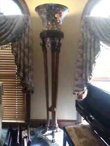 Maitland Smith Ceasar Palace Floor Lamp Mother Of Pearl Values $19000 Reduced