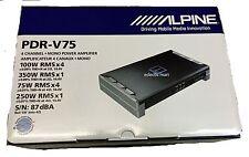 ALPINE PDR-V75 CAR 5-CH EXTREME POWER DENSITY DIGITAL AMPLIFIER PDRV75