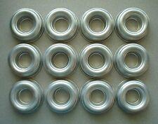 Vintage Round Aluminum Metal Jello Molds Donut Ring Tart Bundt Baking Lot of 12