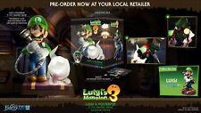 Lizenzierte Luigis Mansion 3 Figur Collectors Edition Luigi & Polterpinscher
