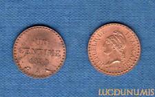 II République, 1848-1852 – Un Centime Dupré 1850 A Paris SPL FDC