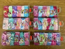 Rainbow Unicorn Girls' Briefs 6 panty pack kids underwear 3-14
