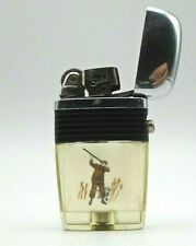 Vintage Bird Hunter and English Pointer Dog Vu Lighter By Scripto
