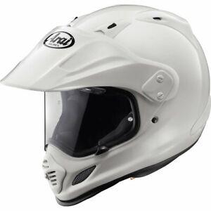 Casque Arai Tour-X 4 Blanc - Modèle d'exposition