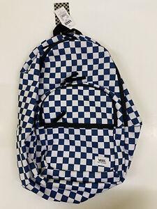 Vans Ranged Backpack Checkered Blue Unisex