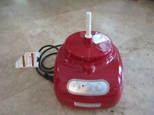 KithenAide food processor, kfpw760QER1, base motor, red, NEW