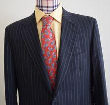 DOLCE & GABBANA D&G 100% wool Striped Navy Blue Blazer Jacket, SIZE US 46R/EU 56