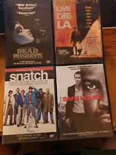 Dead Presidents + To Live And Die In L.A. + Snatch + Safe House 4 DVD Lot