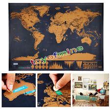 Affiche fraîche de luxe mondiales Constellations voyage Star World Carte Cadeau