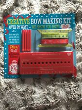 TOOL BUDDIES - CHRISTMAS CREATIVE BOW MAKING KIT. BRAND NEW