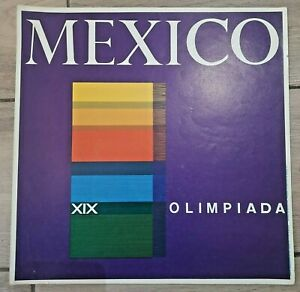 Mexico 1968 Olympic Games Poster #7