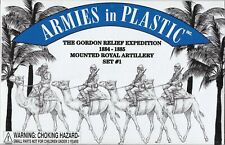 Armies in Plastic Gordon Relief Expedition Mounted Royal Artillery Set #1 54mm