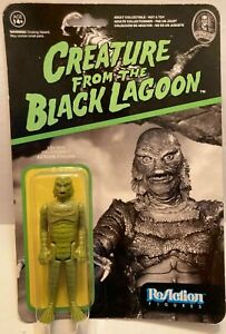 """UNIVERSAL MONSTERS-FUNKO ReACTION-CREATURE FROM THE BLACK LAGOON-3 3/4""""-POSABLE"""