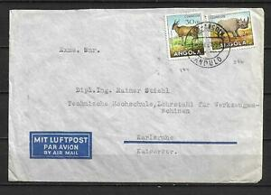 Angola, Portugal - 1954 Airmail Cover t/ Germany - VF !!!!!  (A3918)