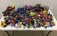 Huge Imaginext Figures Lot Villians Super Friends DC Vehicles And More