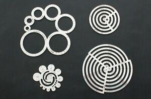 Steel Circle Ruler Round Leather Corner Cutting Template DIY Leathercraft Tools