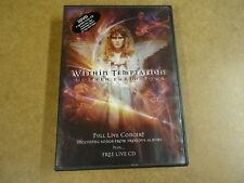 MUSIC 2-DISC DVD + CD / WITHIN TEMPTATION - MOTHER ERTH TOUR