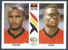 PANINI FIFA WORLD CUP-GERMANY 2006- #309-ANGOLA-FLAVIO / LOVE