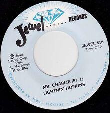 """LIGHTNIN' HOPKINS - Mr Charlie Part 1 7"""""""