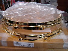 "New Ludwig Brass Die Cast Snare Drum Hoops, 14""-10 Hole/Lug, Worldwide Shipping"