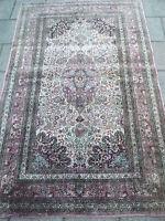 Noble, ancien tapis de soie__soie sur soie__153 x 95cm_