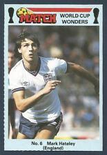 MATCH MAGAZINE-WORLD CUP WONDERS 1986- #06-MILAN & ENGLAND-POMPEY-MARK HATELEY