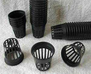 """5cm/2"""" Mesh Pots 10x, 25x, 50x, 100x  Hydroponic & Aeroponics, Aquarium Net Pot"""