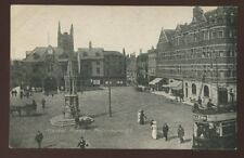 Northants PETERBOROUGH Market Place Tram early PPC