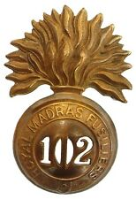 VICTORIAN 102ND DUBLIN FUSILIERS GLENGARRY BADGE