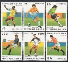 """Benin 1996 Mondiali di Calcio/FRANCIA"""" 98/Sport/WC/CALCIO SERIE 6 V (n38795)"""