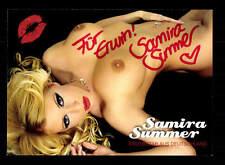 Samira Summer Autogrammkarte Original Signiert # BC 110007