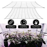 Scrog Net for grow tents flexible trellis plant netting 2 pack 4in and 6in nets