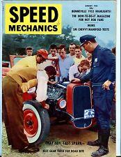 Speed Mechanics Magazine January 1954 Bonneville EX No ML 052117nonjhe