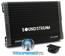 SOUNDSTREAM AR1.2500D MONOBLOCK 2500W SUBWOOFERS SPEAKERS BASS CAR AMPLIFIER NEW