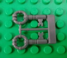 *NEW* Lego Grey Keys on Sprue 1 Pair for Minifigures People Figs x 1