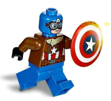 NEW LEGO PILOT CAPTAIN AMERICA MINIFIG 76076 marvel figure minifigure super hero